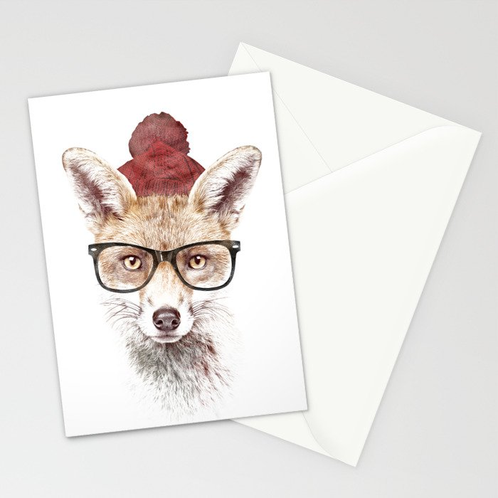 It's pretty cold outside Stationery Cards