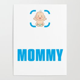 New Mom Gift Achievement Unlocked Mommy Present for First Time Mother Poster