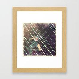 Bodies in Space: Radiation Framed Art Print