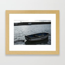 carrickfergus Boat Framed Art Print