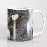 emma stone Mugs featuring Emma by B Hoagland