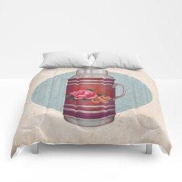 Retro Warm Water Jar Comforters
