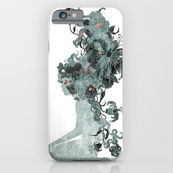 Freya's Hair (Teal) iPhone & iPod Case