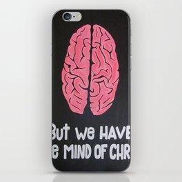 Mind of Christ iPhone Skin