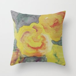 Roses of Late Summer Throw Pillow