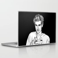 garfield Laptop & iPad Skins featuring Andrew Garfield by Sharin Yofitasari