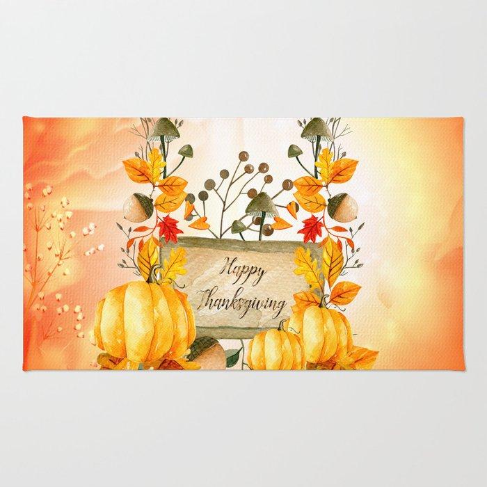 Happy thanksgiving Rug