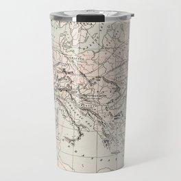 Vintage Fall of The Roman Empire Map (1901) Travel Mug