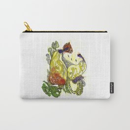 Two Sweet Pears Carry-All Pouch
