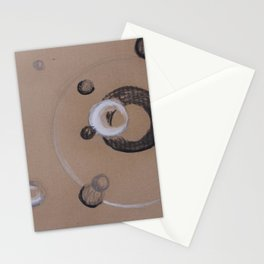 optical bubbles Stationery Cards