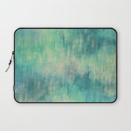 Soft Green Teal Wash Laptop Sleeve