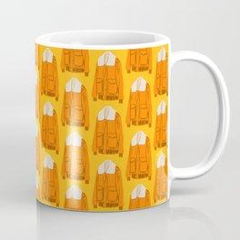 Orange Winter Jacket Coffee Mug