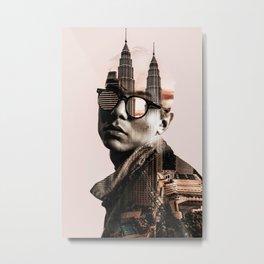 The Petronas Towers Metal Print