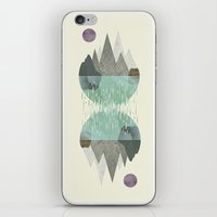 waterfall iPhone & iPod Skins featuring Waterfall by FLATOWL