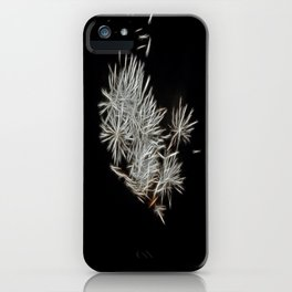 Silver Fireworks iPhone Case
