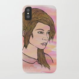 Do you love me? iPhone Case