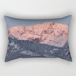 Electric Peak Rectangular Pillow