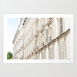 Grande facade de Paris Art Print