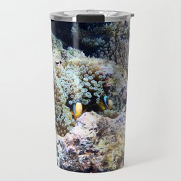 Fish in Sea Anemone Travel Mug