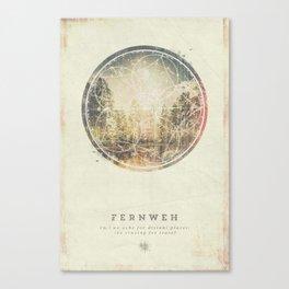 Fernweh Vol 7 Canvas Print