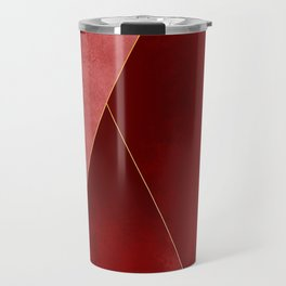 Crimson Tones Travel Mug