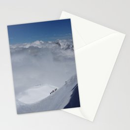 Alpine Mountain Climbers Stationery Cards