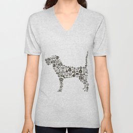 Dog business Unisex V-Neck