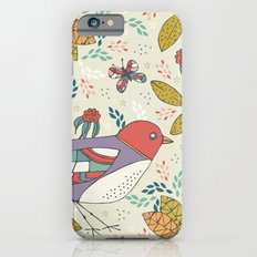 Bird and Butterfly  Slim Case iPhone 6s