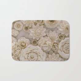 Paper Bouquet Bath Mat