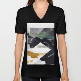 Untitled (Painted Composition 2) Unisex V-Neck
