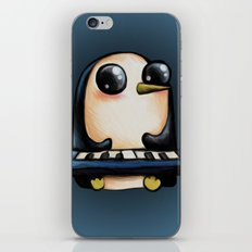 Penguin With Keyboard iPhone & iPod Skin