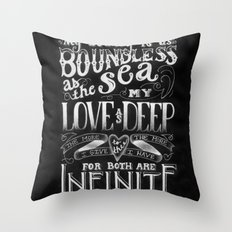 For You, My Love Throw Pillow