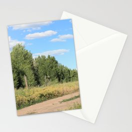 Dusty Wyoming Road Stationery Cards