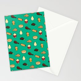 A Magic Kingdom of Snacks Stationery Cards