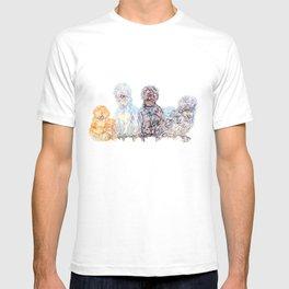 Silkie Chicken Huddle T-shirt