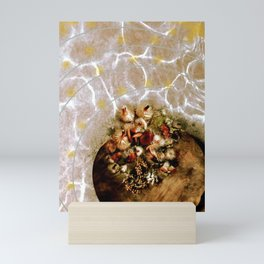 the scintillating spa feel of rejuvenation, life as moment to moment luxury Mini Art Print
