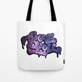 """Rogue Soul"" Space Design Tote Bag"