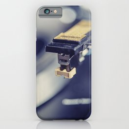 Needle on the Record III iPhone Case