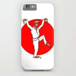Sloth Karate iPhone Case