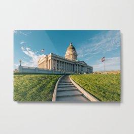 Utah State Capitol 01 Metal Print
