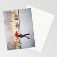 Antwerp in the Snow Stationery Cards