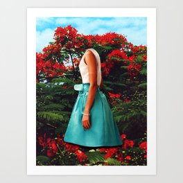 Los paraisos artificiales Art Print