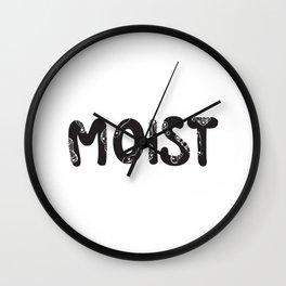 moist Wall Clock