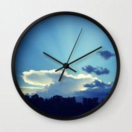 Cloud Anvil Wall Clock