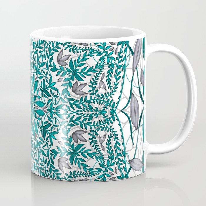 Woven Vines of Silver and Life Coffee Mug