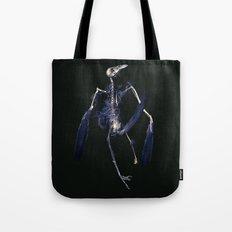 Crow Skeleton Tote Bag