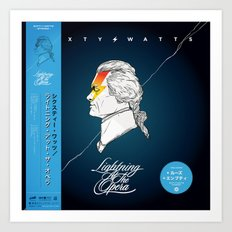 Lightning At The Opera - Variant Art Print