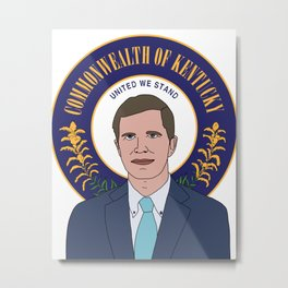 Governor Andy Beshear Metal Print