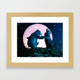 Dancing Bears Framed Art Print