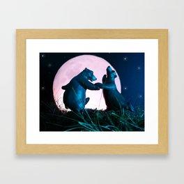 Dancing Bears Framed Art Print